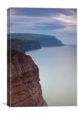 cliffs, Canvas Print