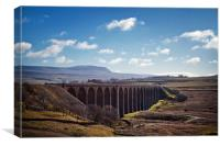 Ribblehead Landscape, Canvas Print