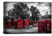 The Phone Box Graveyard