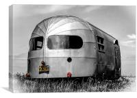 Classic Airstream Caravan, Canvas Print