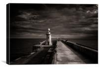 Folkestone Lighthouse, Canvas Print
