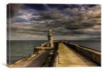 Folkestone Lighthouse , Canvas Print