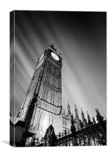 Big Ben London., Canvas Print