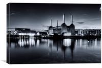 Battersea Blues, Canvas Print