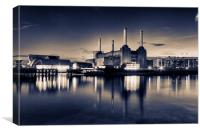 Battersea Power Station London, Canvas Print
