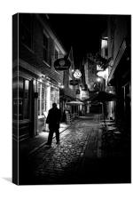 Canterbury at Night, Canvas Print