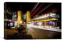Westgate Towers - Canterbury, Canvas Print