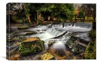 Kearsney Abbey Dover, Canvas Print
