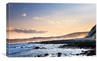 Folkestone Sunset, Canvas Print
