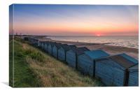 Minnis Bay Sunset, Canvas Print
