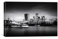 London Skyline / Cityscape, Canvas Print