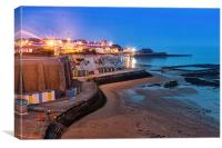 Broadstairs at Twilight. , Canvas Print