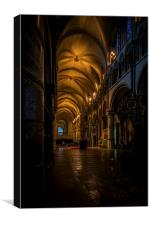 Canterbury Cathedral , Canvas Print