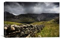 Snowdonia - Idwal Slabs, Canvas Print