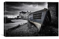 Whitstable Oyster Co, Canvas Print