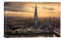 The Shard View, Canvas Print