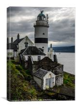 Cloch Point  Lighthouse, Canvas Print