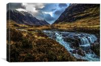 Majestic Glencoe, Canvas Print