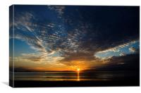 Big Sky Sunset, Canvas Print