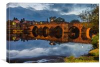 The Old Bridge, Dumfries, Canvas Print