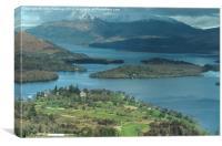 Loch Lomond Golf Club, Canvas Print