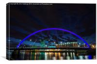 The Clyde Arc , Canvas Print