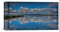 Forth Bridges, Canvas Print