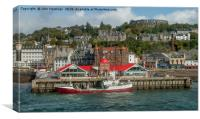 Oban Harbour, Canvas Print