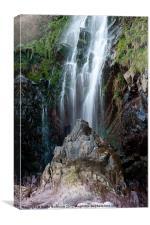Clovelly Waterfall, Canvas Print