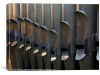 Cathedral Organ Pipes, Canvas Print