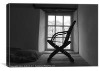 Chair Silhouette, Canvas Print