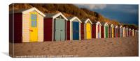 Beach Huts ii, Canvas Print