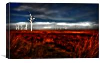 Wind Farm, Canvas Print