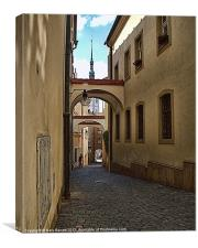Medieval Olomouc Of Czech Republic, Canvas Print