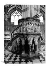 Preaching to the choir, Canvas Print