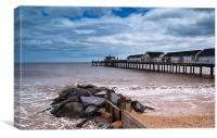 Southwold Pier, Suffolk Seaside, Canvas Print