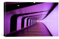 London Kings Cross Tunnel, Canvas Print
