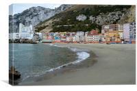 catalan bay seascape, Canvas Print