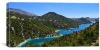 Lake View, Canvas Print