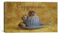Cappuccino, Canvas Print