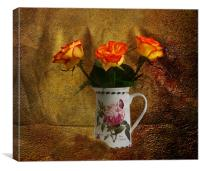 Roses, Canvas Print