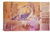Lavender Delight, Canvas Print