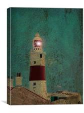 Gibraltar Lighthouse, Canvas Print