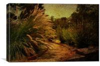 The Garden, Canvas Print