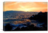 Sunset Bay 2, Canvas Print