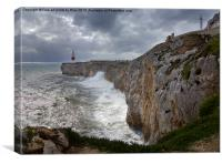 Europa Point Gibraltar, Canvas Print