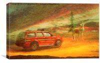 Ablaze, Canvas Print