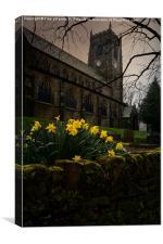 St Bartholomews Church, Marsden, Canvas Print