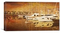 Quay, Canvas Print