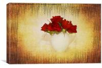 Crimson Rose, Canvas Print
